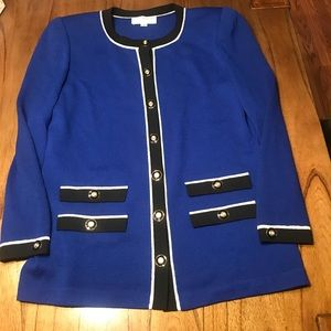 Vintage St. John collection by Marie Gray blazer